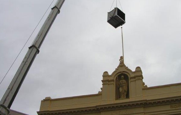 DriCon Condenser Installation In Collins St.